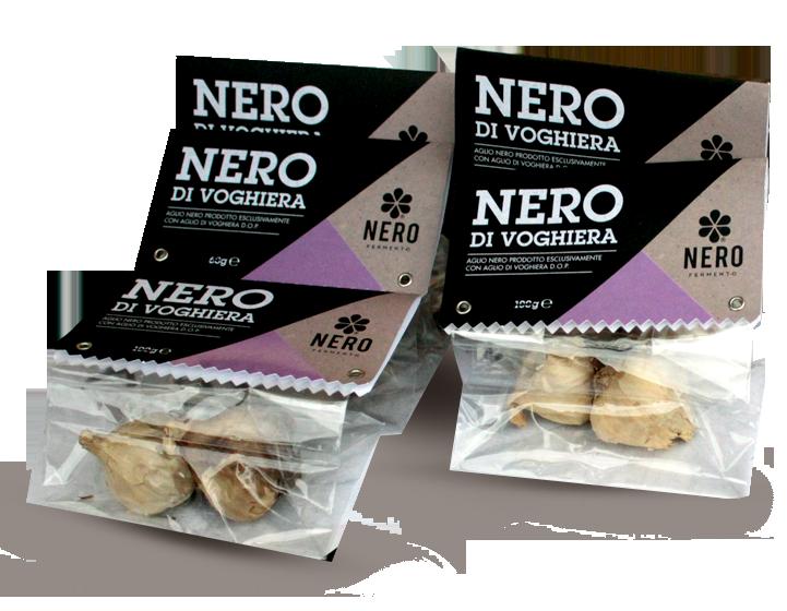 Nero di Voghiera - Aglio nero fermentato da aglio di Voghiera D.o.p.