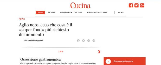 Corriere - Cucina