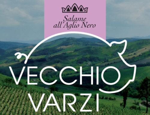 "Vecchio Varzi: salame ""signature"" al Nero di Voghierae"