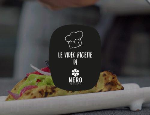 Tacos di sedano rapa con guacamole e aglio Nero di Voghiera